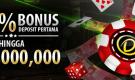 Dapatkan bonus 100% untuk deposit pertama anda di kasino Dafabet!