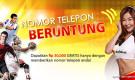Dapatkan hadiah Rp 30,000 hanya dengan memberikan nomor telepon anda!