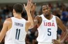 Kevin Durant menjadi bintang saat AS meraih Emas untuk bola basket di Rio