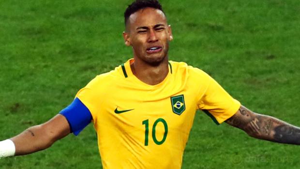 Neymar mundur sebagai kapten Brazil menyusul kesuksesan Olimpiade