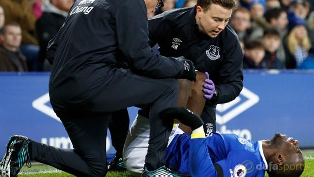 Yannick Bolasie menepi di Everton