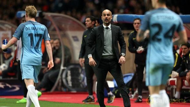 Pep Guardiola membela taktiknya
