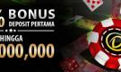 Dapatkan bonus 50% untuk deposit pertama Anda di Dafabet Kasino!