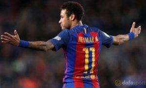 Neymar bantah rumor akan keluar dari Barca
