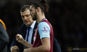 West-Ham-United-manager-Slaven-Bilic-and-Andy-Carroll