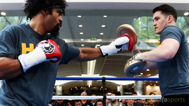 Boxing-Trainer-Shane-McGuigan-with-David-Haye