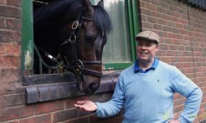 Trainer-Clive-Cox-and-Kodi-Bear-Horse-Racing