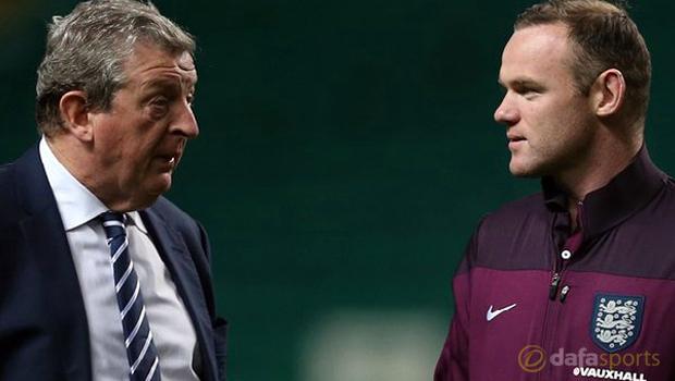 Wayne Rooney and Roy Hodgson Euro 2016