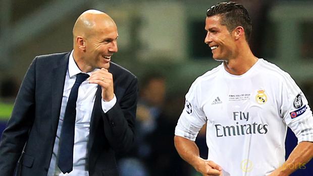 Real-Madrid-coach-Zinedine-Zidane-Cristiano-Ronaldo