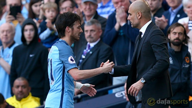 Manchester-City-Pep-Guardiola-and-David-Silva