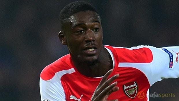 Arsenal-striker-Yaya-Sanogo