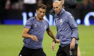 Real-Madrid-coach-Zinedine-Zidane-and-Cristiano-Ronaldo