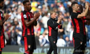 Jermain-Defoe-and-Eddie-Howe-Bournemouth