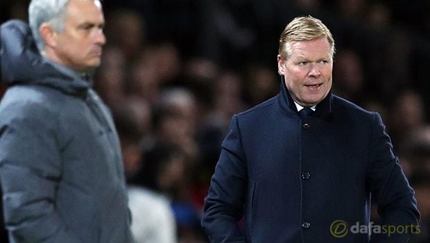 Ronald-Koeman-and-Jose-Mourinho