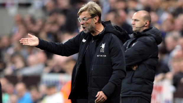 Liverpool-manager-Jurgen-Klopp-during-the-Premier-League-match-at-St-James-Park-Newcastle