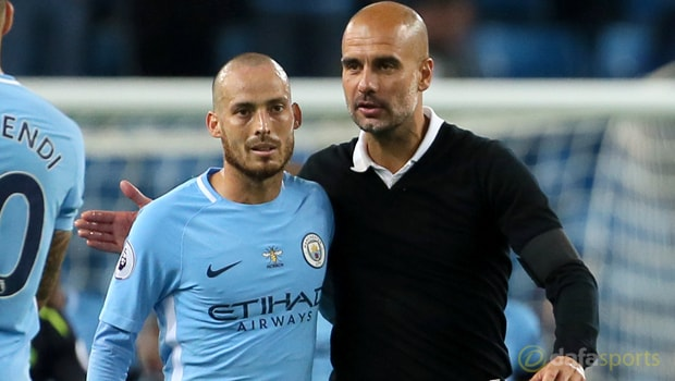 Pep-Guardiola-and-David-Silva-Manchester-City