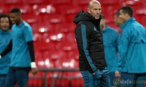 Zinedine Zidane realistis atas masa depan di Real