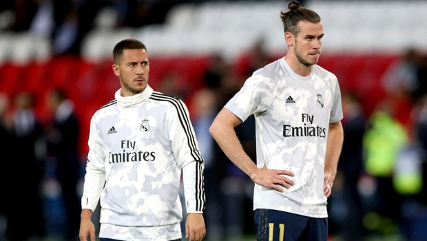 Bale dan Hazard Dari pertandingan pembuka liga Real Madrid