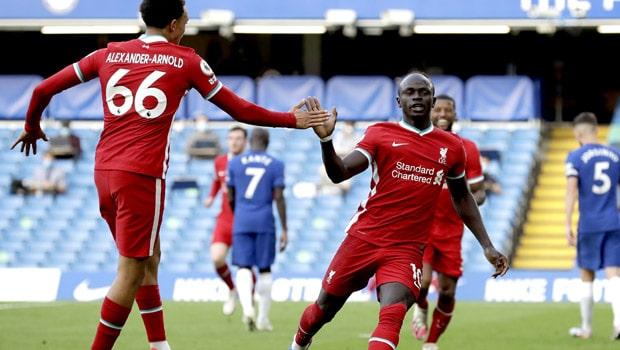 Liverpool Kalahkan Ten-Man Chelsea di Stamford Bridge