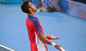 Djokovic Tersingkir dari Tokyo Tanpa Medali